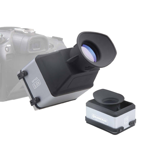 "Picture of CVF-1 COLLAPSIBLE LCD VIEWFINDER for 3.0"" 3.2"" DSRL Camera Screen"