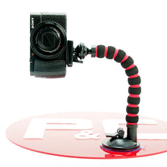 Suction Cup Unipod with Smart Phone Holder