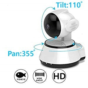 HD 720P Mini WiFi IP Camera Wireless P2P Security Surveillance Camera Night Vision IR Baby Monitor Motion Detection Alarm