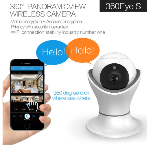 Wi-Fi Security Surveillance System full HD 960p Camera Indoor Outdoor CCTV Camera - gadgetbucketindia