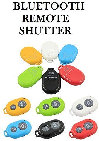 Un-Tech Wireless Bluetooth Remote Shutter Controller for Any iOS & Android Smartphone(Random Colour)