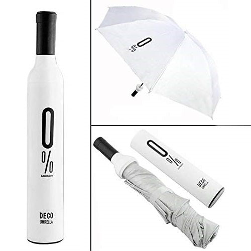 Windproof and UV Protection Umbrella for Men, Women and Kids, With Unique Waterproof Bottle