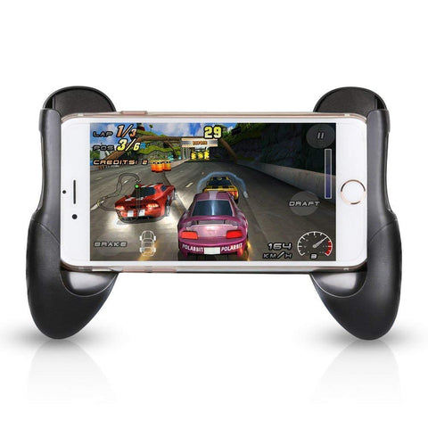 UnTech Universal Gamepad Cover Stands Gaming Case for iPhone X 8 7 Plus 6 6S Plus Samsung S9 S8 Plus S7 Huawei P20 P10 P9 Mate 10 Lite (4.5 to 6.5 Inch Mobile)