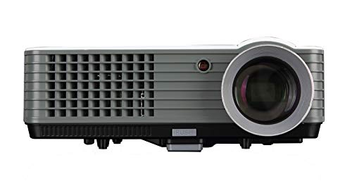 UnTech RD801 LED Portable Projector Full HD Home Cinema Video Projector 2200 Lumens 200 inch Big Screen Support - gadgetbucketindia