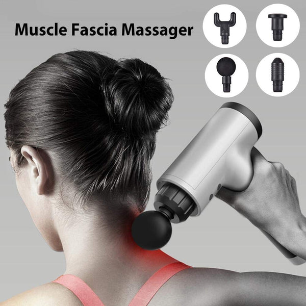 UnTech Electric Body Massager Gun Muscle for Pain Relief-Brushless Motor