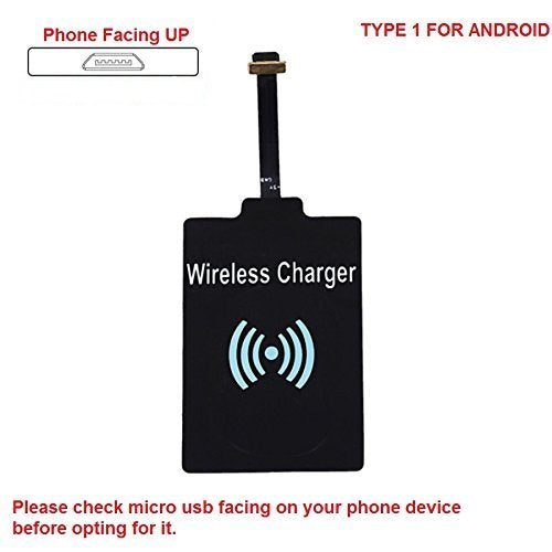 Wireless Charger Kit Wireless Charging Pad & Type C , Lightening Pin and Android Wireless Charging Receiver Chip
