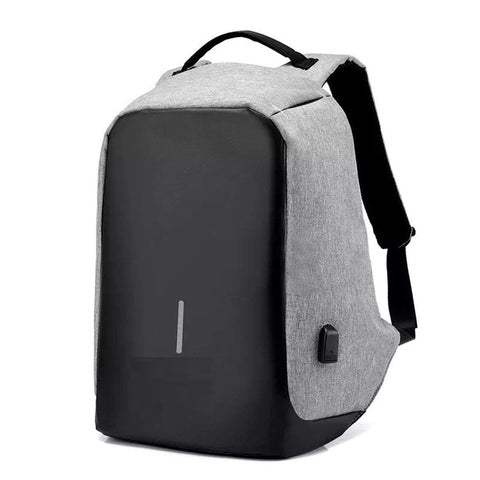 Anti-Theft Water Resistant Computer USB Charging Port Lightweight Laptop Backpack Bag Fitting 15.6-inch Laptops Tablets