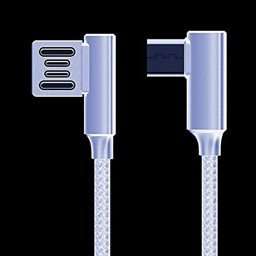 Dual Port 3.0 Quick Car Charger with Double Sided Micro USB Cable-White