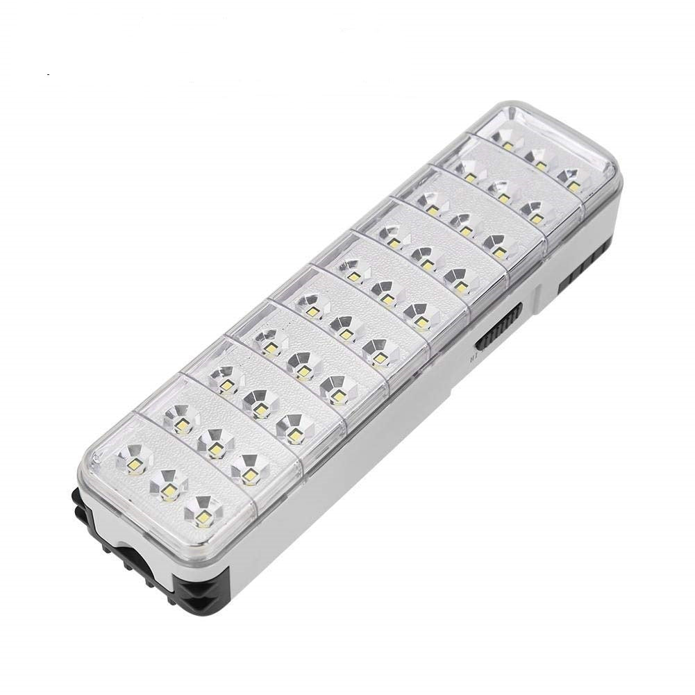 LED Emergency Light Rechargeable Emergency Light with 2-Mode Setting 30 LED Lights (30)