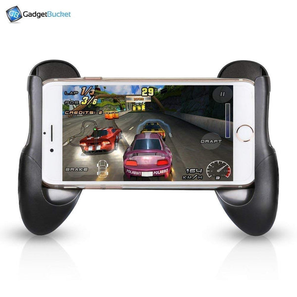 Universal Gamepad Cover Stands for All 4.5 to 6.5 Inch Smartphones and Wired Earphone for Mobile Laptops