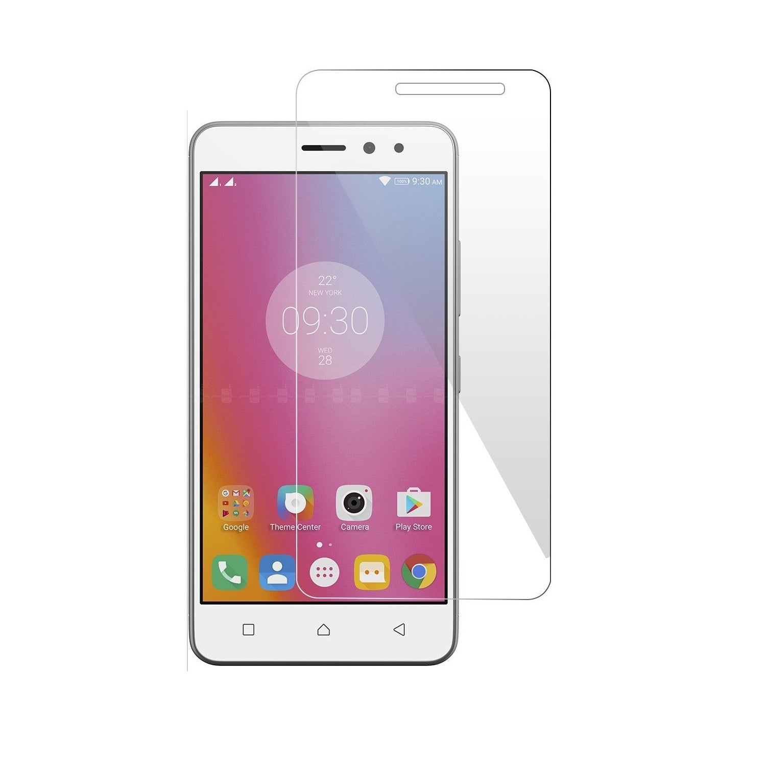 Tempered Glass Screen Protector for Lenovo K6 Power with Installation Kit