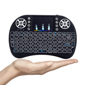 Wireless Bluetooth Multifunction Touchpad Keyboard with Smart Function for Android and iOS Devices