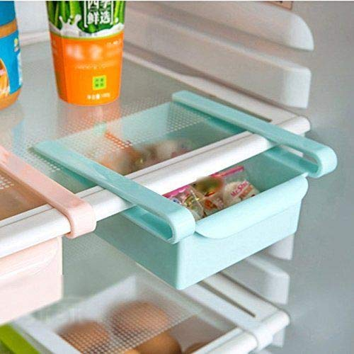 Multipurpose Kitchen Shelf Rack Refrigerator Storage Sliding Rack Multicolour