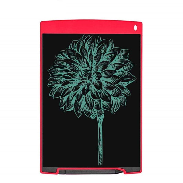 Portable 12 Inch RuffPad E-Writer LCD Writing Paperless Digital Drawing Tablet Handwriting Notepad (Red)