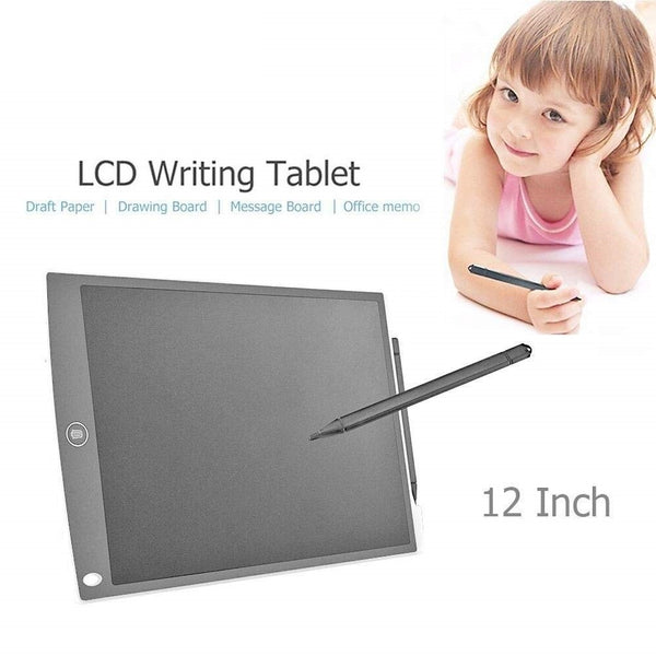 Portable 12 Inch RuffPad E-Writer LCD Writing Paperless Digital Drawing Tablet Handwriting Notepad (White)