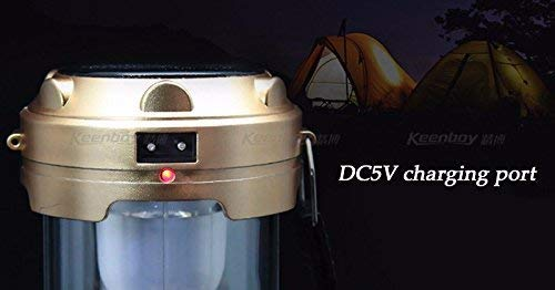 LED Solar Emergency Light Lantern USB Mobile Charging Torch Point, 2 Power Source Solar Travel Camping Lantern