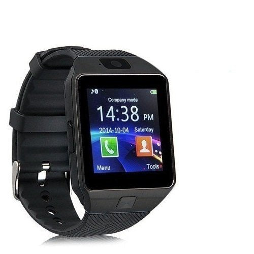 DZ09 Bluetooth Smartwatch with Camera & SIM Card Support for All Devices