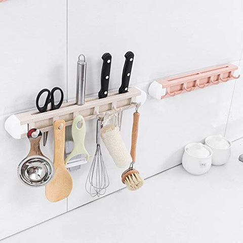 Kitchen Knife Rack and Spoon Holder Multi-Function Storage Wheat Straw Cutter