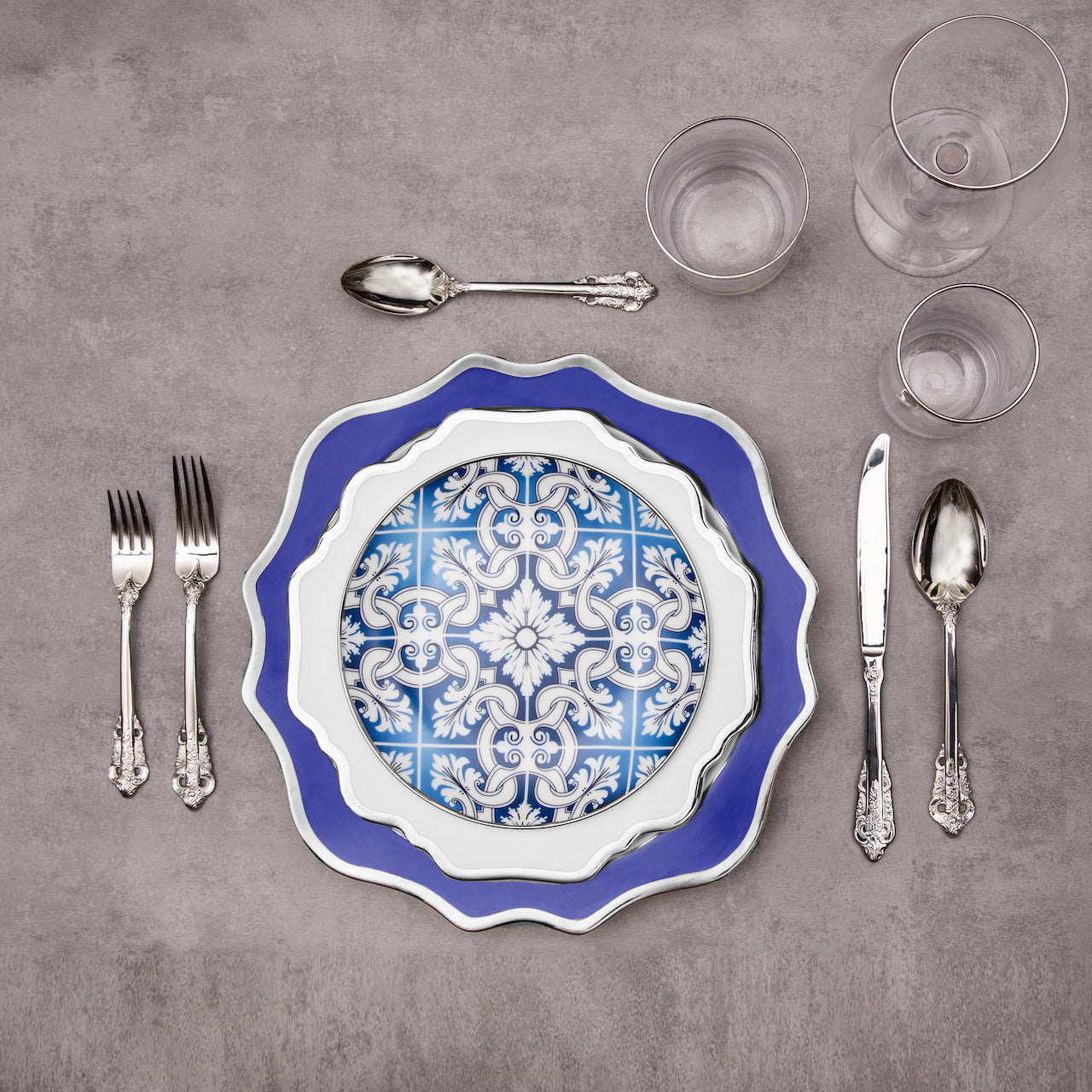 Cerulean Collection 11 Piece Dinnerware Set - Limited Edition