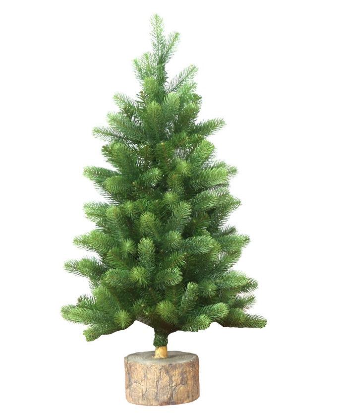 3' Royal Fir Small Tree Unlit