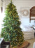 7.5' King Fraser Fir Artificial Christmas Tree with 1000 Warm White LED Lights