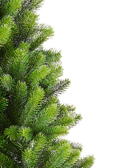7.5' Royal Fir Slim Quick-Shape Artificial Christmas Tree Unlit