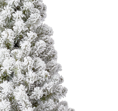 7' Prince Flock® Artificial Christmas Tree Unlit