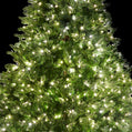 Load image into Gallery viewer, 9' Cypress Spruce Artificial Christmas Tree with 2050 Warm White & Multi-Color Color LED Lights