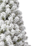 9' Prince Flock® Artificial Christmas Tree Unlit