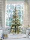 Load image into Gallery viewer, 7' King Noble Fir Artificial Christmas Tree with 500 Warm White LED Lights