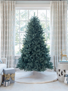 7' Tribeca Spruce Blue Artificial Christmas Tree Unlit