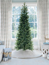 Load image into Gallery viewer, 12' King Douglas Fir Slim Quick-Shape Artificial Christmas Tree Unlit