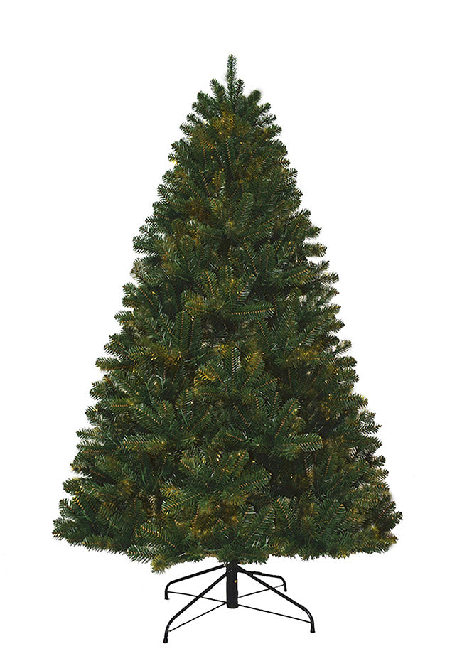 8' Hancock Spruce Artificial Christmas Tree Unlit. Final Sale.