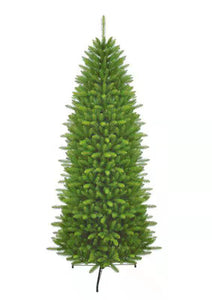 7.5' Yorkshire Fir Slim Artificial Christmas Tree Unlit