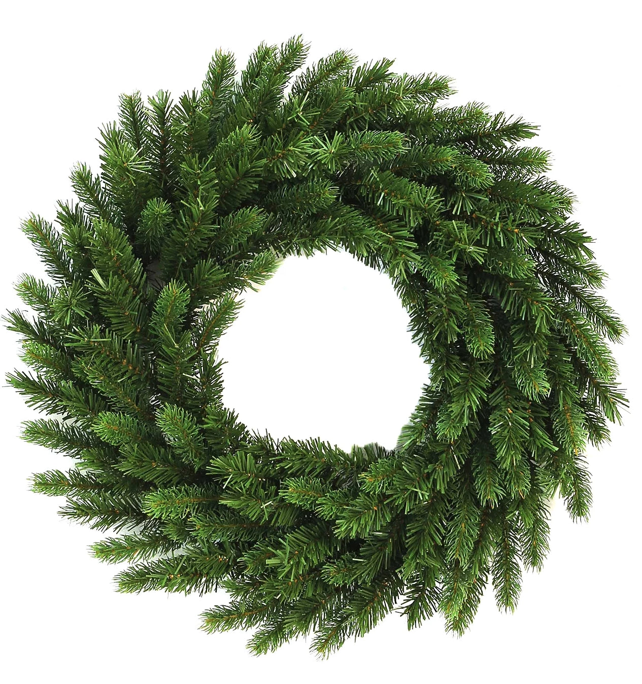 36″ King Fraser Fir Wreath With 150 LED Lights (Plug Operated)