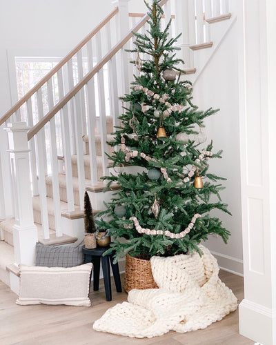 9' King Noble Fir Artificial Christmas Tree Unlit