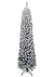 10' Prince Flock Pencil Christmas Tree Unlit