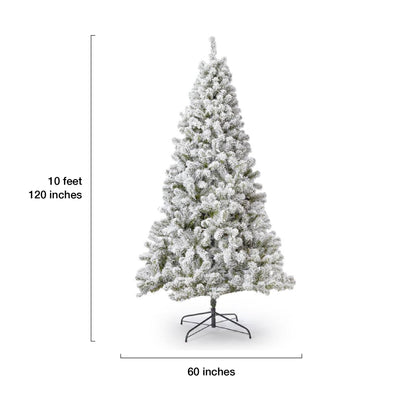 10' Prince Flock® Artificial Christmas Tree Unlit