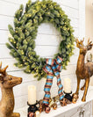 Load image into Gallery viewer, 36″ Royal Fir Wreath With 150 LED Lights (Plug Operated)