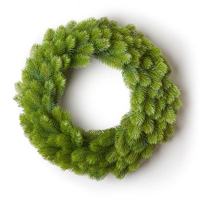 "24"" Royal Fir Wreath Unlit"