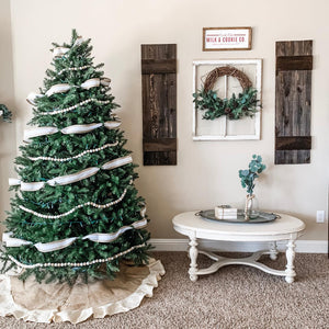 (OPEN BOX) 9' Tribeca Spruce Artificial Christmas Tree Unlit