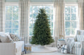 Load image into Gallery viewer, 6.5' Yorkshire Fir Artificial Christmas Tree with 500 Warm White LED Lights