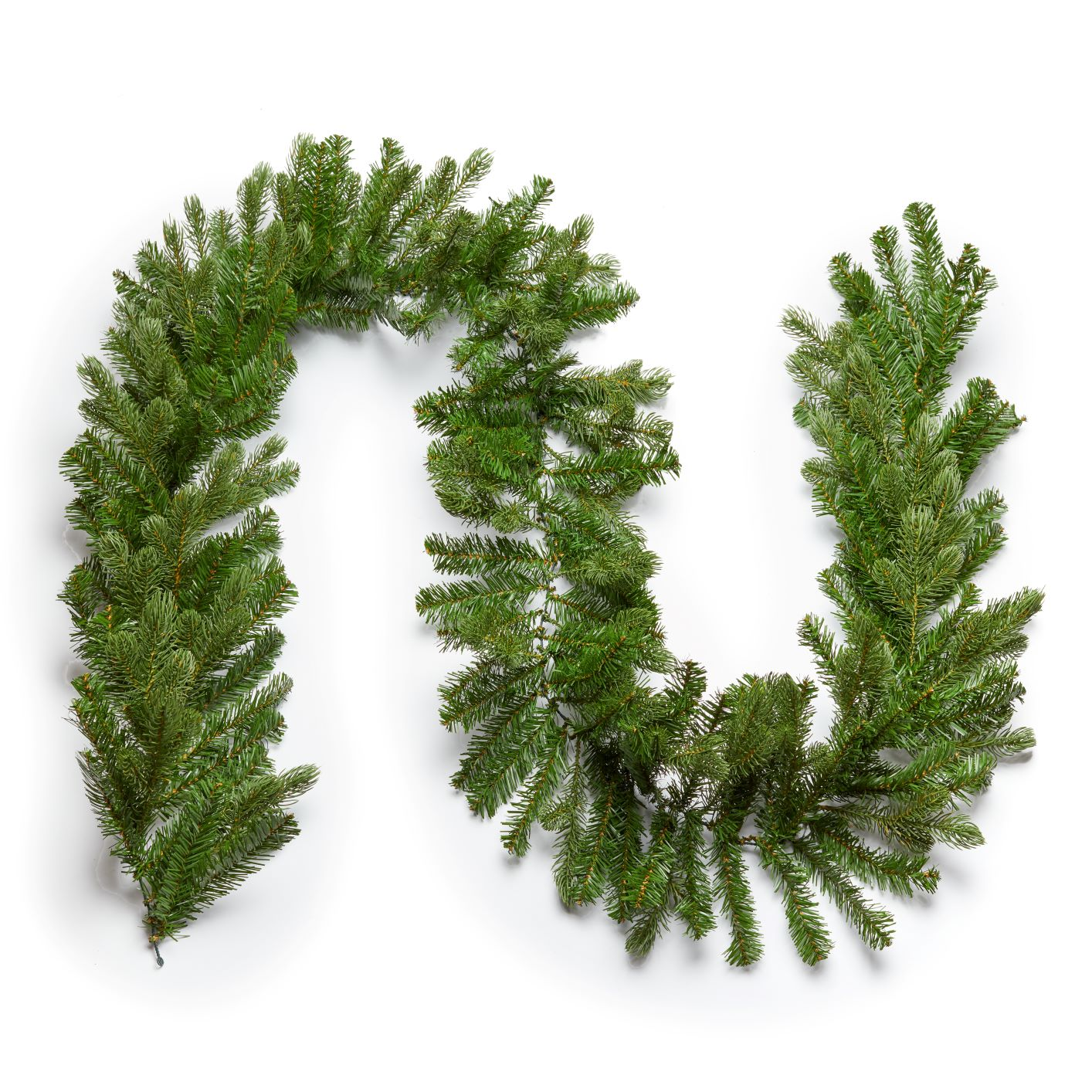 "9' x 12""  Cypress Spruce Garland Unlit"