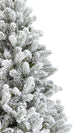 Load image into Gallery viewer, (OPEN BOX) 7.5' King Flock® Artificial Tree Unlit, FINAL SALE