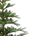 Load image into Gallery viewer, 6' King Noble Fir Artificial Christmas Tree with 400 Warm White LED Lights