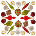 Load image into Gallery viewer, Traditional 30-Piece Glass Ornament Set (Red - Green) Limited Edition