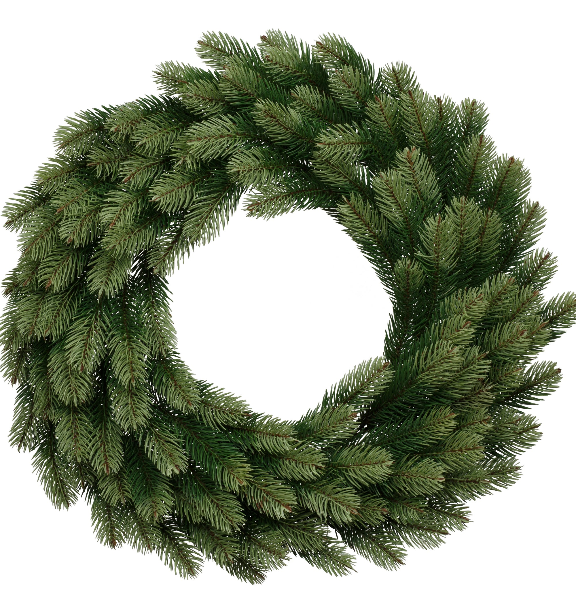 36″ Royal Fir Wreath With 150 LED Lights (Plug Operated)