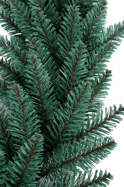 "24"" Tribeca Spruce Blue Wreath with Warm White LED Lights (Battery Operated)"