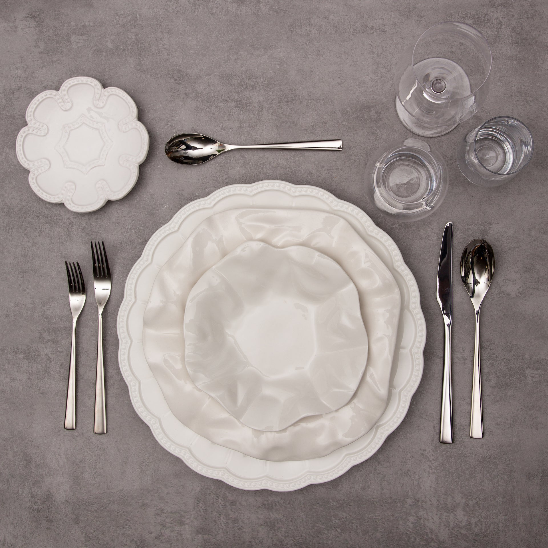 Chantilly Collection 12 Piece Dinnerware Set - Limited Edition