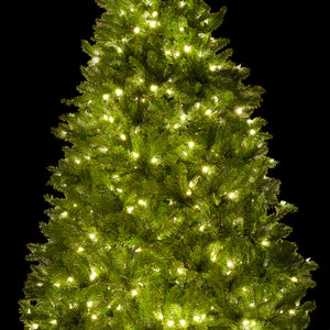 (OPEN BOX) 7.5' Yorkshire Fir Tree with 600 Warm White LED Lights,  FINAL SALE